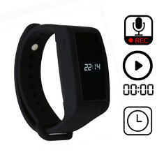 Bracelet Digital Voice Recorder,Wristband 8GB Voice Activated,Noise Cancelling