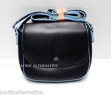Petit sac a main bandouliere noir DAVID JONES pour femme besace handbag NEUF #1
