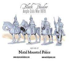 Blíster de polvo negro 28MM WGZ-BRI-27 policía montada natal