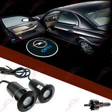 2x Tür Shadow Laser Licht für Alle OPEL Einstiegsbeleuchtung LED Logo Projektor