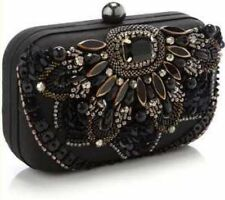 Accessorize Satin Outer Clutch Bags