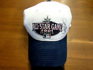 ICHIRO SUZUKI # 51 SEATTLE MARINERS SIGNED AUTO 2001 ALL-STAR GAME CAP HAT JSA