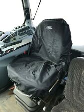 Universal Tractor Seat Cover Machinery Industrial Black PVC Case Fendt Holland