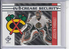 03/04 Pacific Private Stock Jocelyn Thibault In Crease Security card #4
