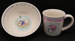 Wedgwood Jemima Puddle-duck Mug and Bowl