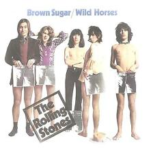 "Rolling STONES ""BROWN SUGAR/Wild Horses"" 2 Track 7 Inch Vinyl 2015 Best Buy SS"