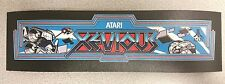 Xevious marquee sticker. 2.75 x 10.5. (Buy any 3 of my stickers, Get One Free!)
