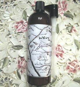 ~WEN by Chaz Dean~WINTER WHITE FOREST CLEANSING CONDITIONER 32 oz w/Pump~