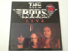 THE RODS live LP 1984 BERNETT french pressing RED LABELS