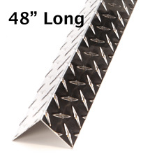 2 X 2 X 48 Aluminum Diamond Plate Outside Corner Guard 045 Thick