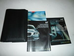 JAGUAR XF 2009 ONWARDS HANDBOOK PACK AND WALLET