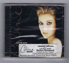 CELINE DION CD (NEW) LET'S TALK ABOUT LOVE (DUET Barbra STREISAND)