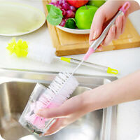 Bottle Cup Cleaning Brush Long Handle Bendable Scrubbing Cleaner Kitchen Tool