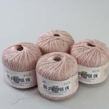 Aip Thread No.8 Cotton Crochet Yarn Craft Tatting Hand Knit Embroidery 50gX4 #08