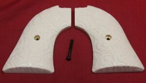Heritage Arms Rough Rider Grips .22 lr / .22 mag Ivory Scroll