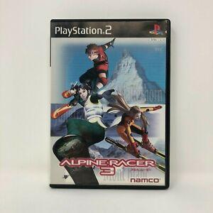 Alpine Racer 3 Playstation 2 PS2 Japan Import