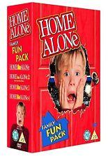 Home Alone 1-4 Box Set 4 Discs Brand  New DVD