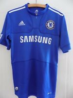 Adidas Chelsea Football Premier League Club Retro RARE Home Soccer Shirt 2009