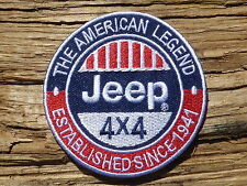 ECUSSON PATCH THERMOCOLLANT aufnaher toppa JEEP 4x4 voiture automobile willys
