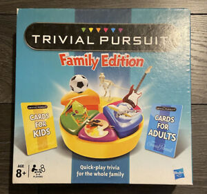 Hasbro Trivial Pursuit Family Edition(73013) No instructions