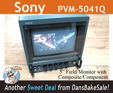 "Sony Trinitron 5"" Color Video Field Monitor model PVM-5041Q - Works great!"