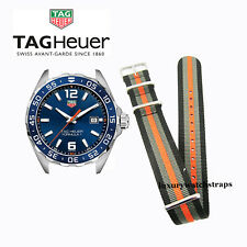 NYLON NATO® WATCH STRAP FOR TAG HEUER FORMULA ONE AQUA RACER CARRERA 20mm 22mm