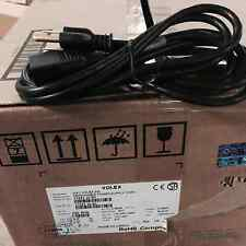 1 Box of 50 VOLEX 1725110B1 POWER CORD NEMA5-15P/IEC, 7.5FT, 10A BLACK