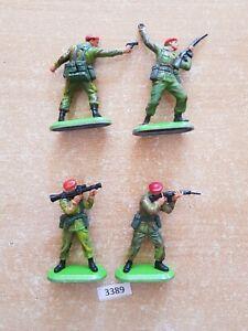 Britains Super Deetail Modern British Paratroopers (lot 3389)
