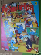 STAMP ALBUM DE SMURFEN COMPLETE ALBUM PART 2,THE SMURFS,DIE SCHLÜMPFE