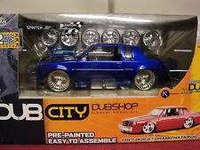 Jada 1987 Buick Regal Grand National 1/24 scale original 2003  turbine wheel HTF