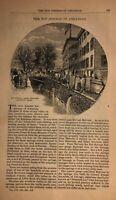 1878 Hot Springs of Arkansas Grand Central Hotel Hot Springs Hotel Observatory