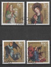 GERMANY 1991 CHRISTMAS SG 2427-30 SET 4 USED.