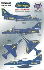 Victory Productions Blue Angels A-4F, TA-4J Skyhawk Decals 1/48  002
