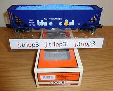 LIONEL 6-81055 D&H ANTHRACITE BLUE COAL QUAD HOPPER CAR O GAUGE TRAIN DEL-HUDSON