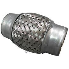"CXRacing 1.5"" X 4"" Stainless Steel Downpipe Exhaust Muffler Flex Pipe"