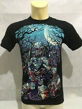 T-shirt uomo con stampa Heavy Metal Horror Predator maglietta maglia tshirt new