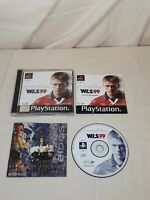 Michael Owen's WLS 99 PS1 Game  COMPLETE WITH MANUAL Sony Playstation