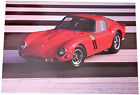 FOTO STAMPA - FERRARI 250 GTO - PETER VANN - CM. 31,5 x 45