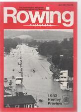 ROWING MAGAZINE - July 1983