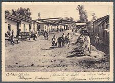 ETIOPIA Ethiopia COLONIE ADDIS ABEBA 03 COLONIALE - ETHNIC - Cartolina COLONIALE