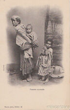 Algerie - Biskra - Femme nomade