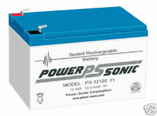 Powersonic ps12120 12ah 12v Vespa de la movilidad de la batería