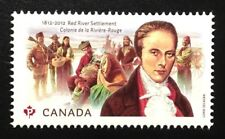 Canada #2539 MNH, Red River Settlement Stamp 2012