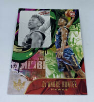 2019-20 Panini Court Kings Level II De'Andre Hunter Rookie #107, Atlanta Hawks