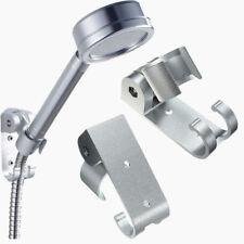 Adjustable Bathroom Stand Bracket Wall Mount Shower Head Holder Hook Aluminum