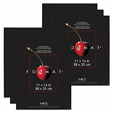 MCS Format Frame 11x14 Black Value 6 Pack (Same Shipping Any Qty)
