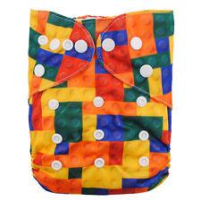 NEW Alva Baby Regular One size Reusable Pocket Cloth Diaper Nappy+1Insert YA39