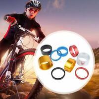"Bike Headset 28.6mm Stem Spacers 1-1/8"" Bicycle Washers 5/10/15/20mm BMX Z2N8"