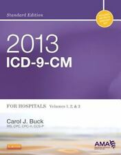 NEW - 2013 ICD-9-CM for Hospitals, Volumes 1, 2 and 3 Standard Edition, 1e
