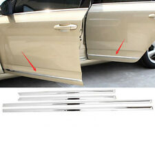 For Skoda Octavia A7 MK3 2015-16 Stainless Side Door Body Molding Trim Covers 1p